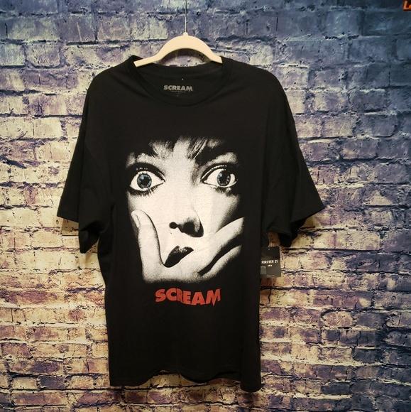 e08a53bce Forever 21 Shirts | Scream Mens Graphic Tee Large Nwt | Poshmark